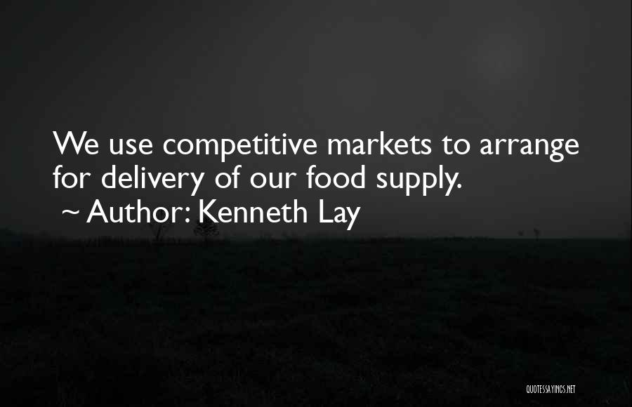 Competitive Markets Quotes By Kenneth Lay