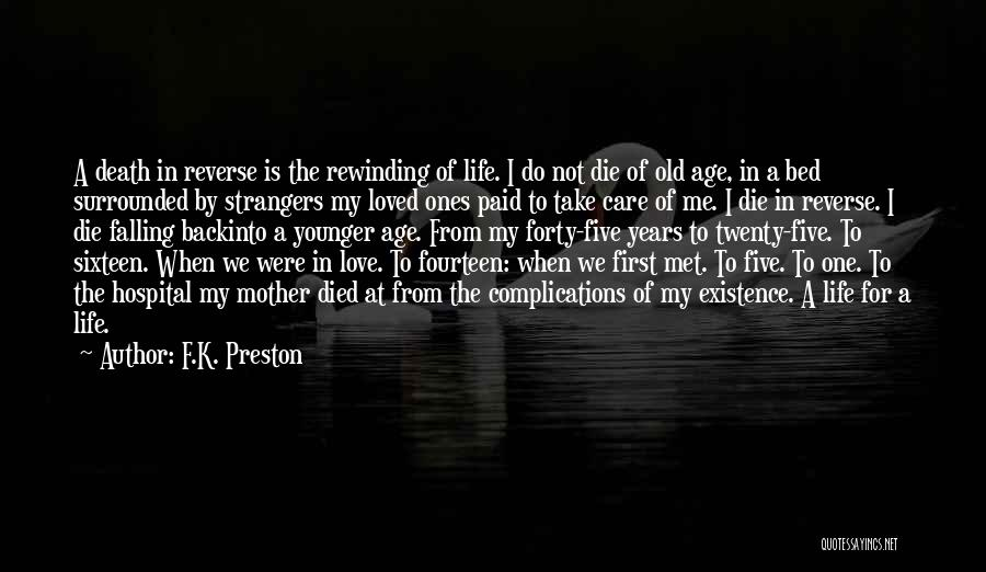 Complications In Love Quotes By F.K. Preston