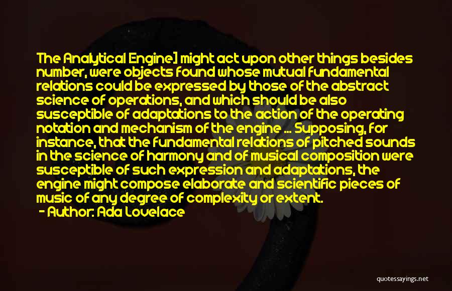 Composition Quotes By Ada Lovelace