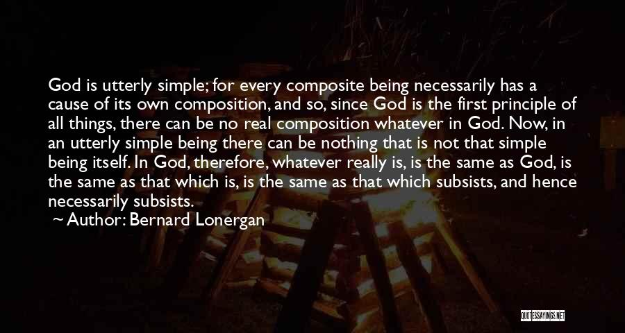 Composition Quotes By Bernard Lonergan