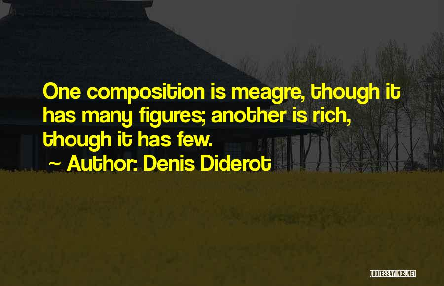 Composition Quotes By Denis Diderot