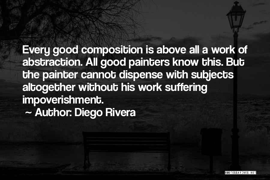 Composition Quotes By Diego Rivera