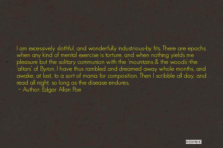 Composition Quotes By Edgar Allan Poe