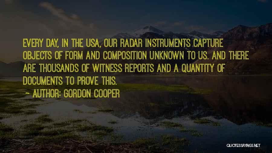 Composition Quotes By Gordon Cooper