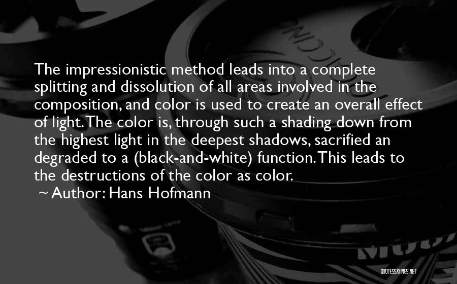 Composition Quotes By Hans Hofmann