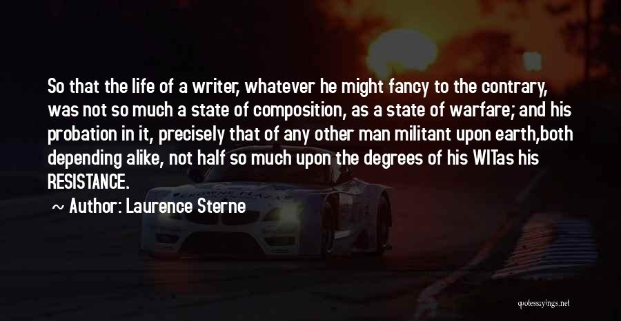 Composition Quotes By Laurence Sterne
