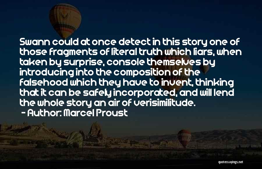 Composition Quotes By Marcel Proust