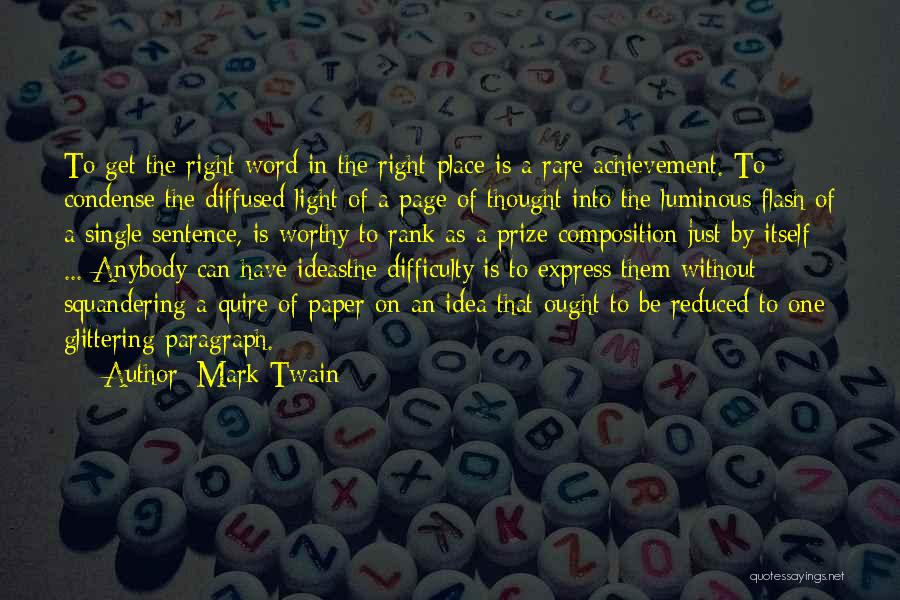 Composition Quotes By Mark Twain