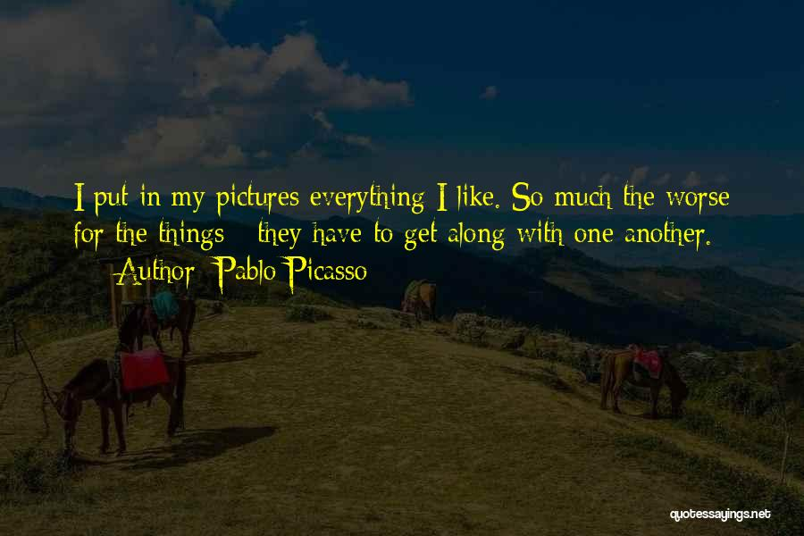 Composition Quotes By Pablo Picasso