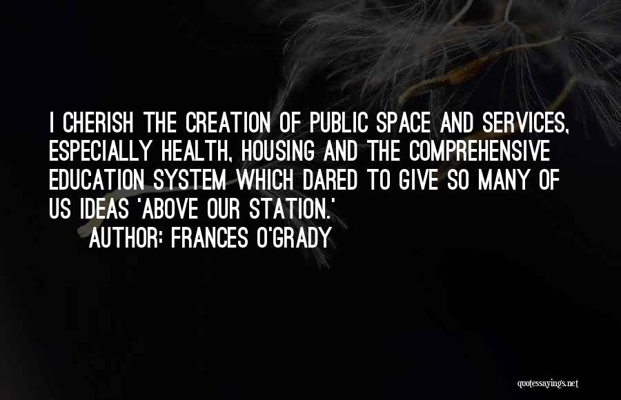 Comprehensive Education Quotes By Frances O'Grady