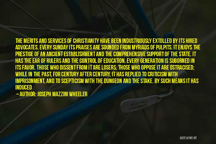 Comprehensive Education Quotes By Joseph Mazzini Wheeler
