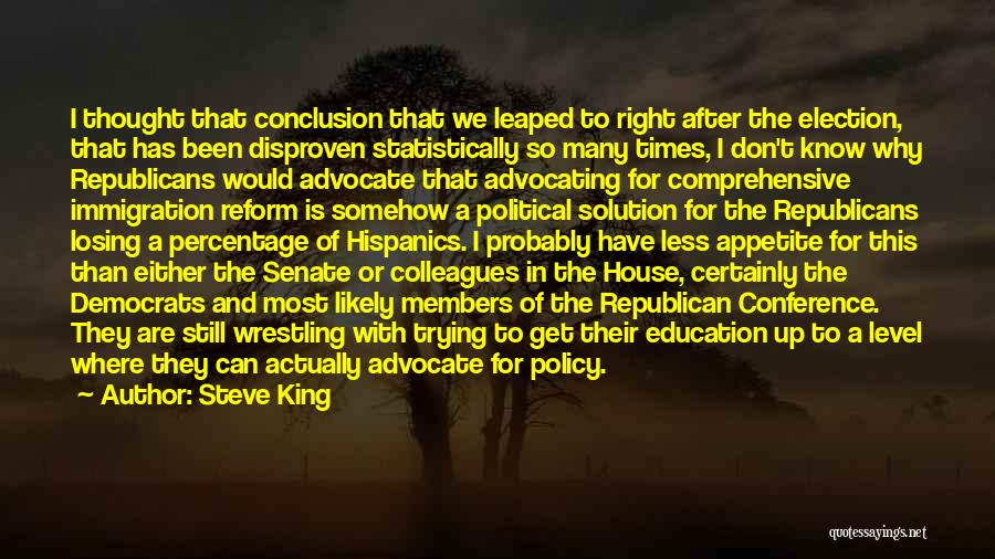 Comprehensive Education Quotes By Steve King