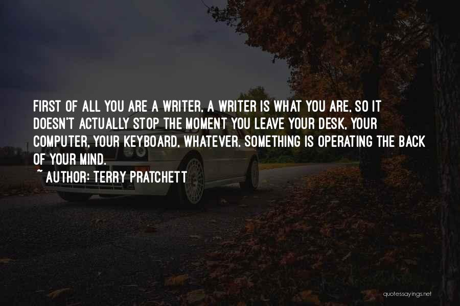 Computer Keyboards Quotes By Terry Pratchett