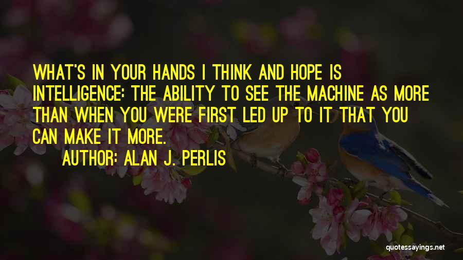 Computer Programming Inspirational Quotes By Alan J. Perlis