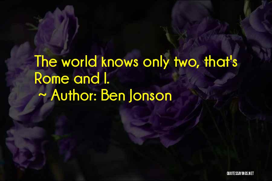 Conceited Quotes By Ben Jonson