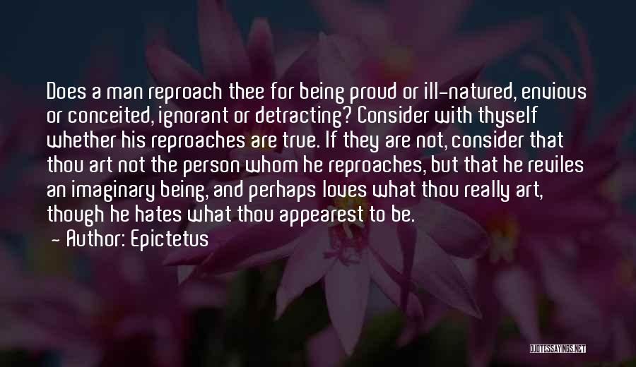 Conceited Quotes By Epictetus