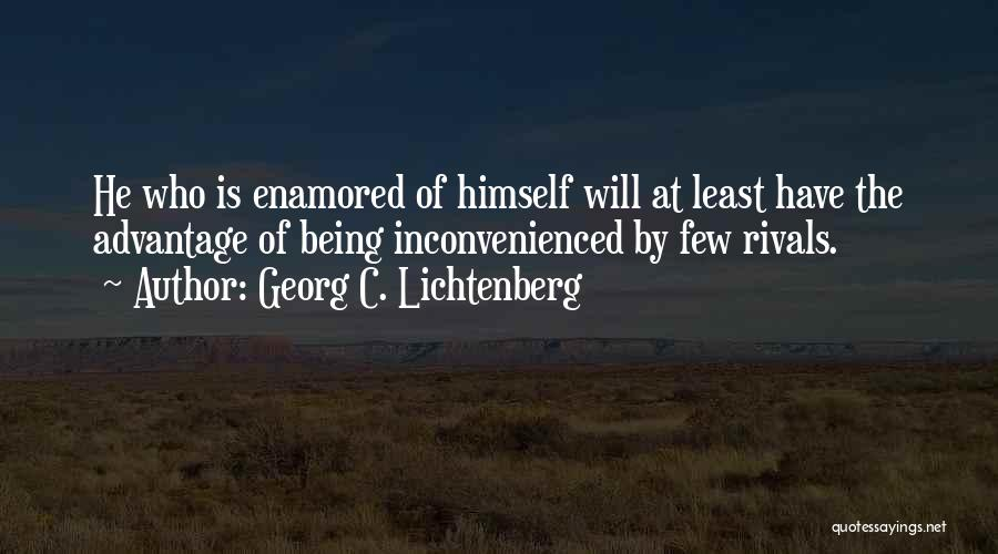 Conceited Quotes By Georg C. Lichtenberg