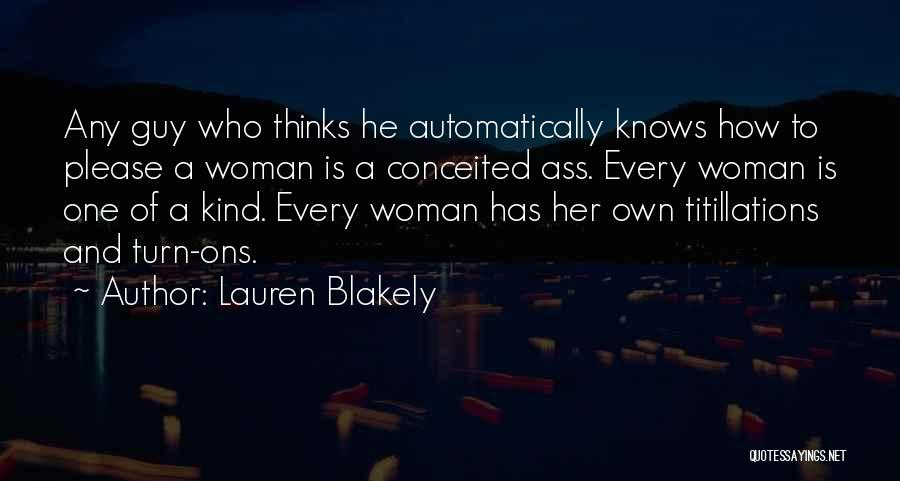 Conceited Quotes By Lauren Blakely
