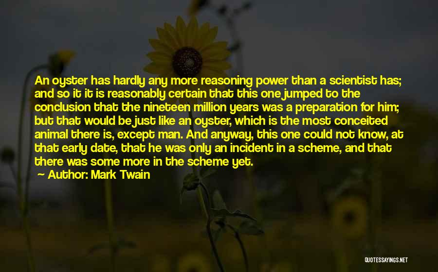 Conceited Quotes By Mark Twain