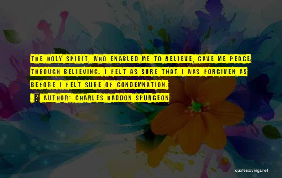 Condemnation Quotes By Charles Haddon Spurgeon