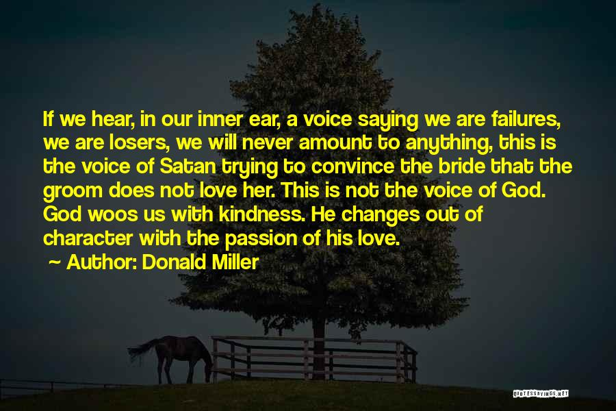 Condemnation Quotes By Donald Miller