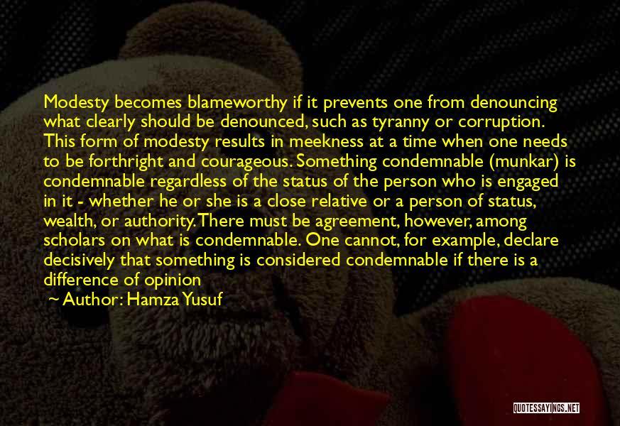 Condemnation Quotes By Hamza Yusuf