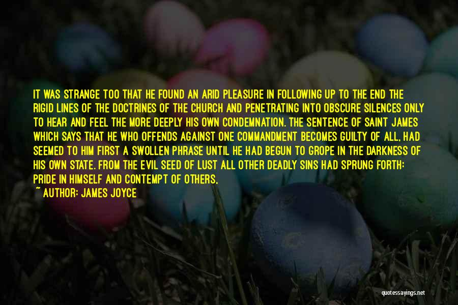 Condemnation Quotes By James Joyce