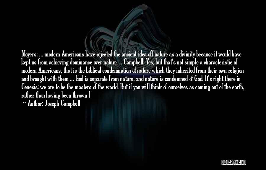 Condemnation Quotes By Joseph Campbell