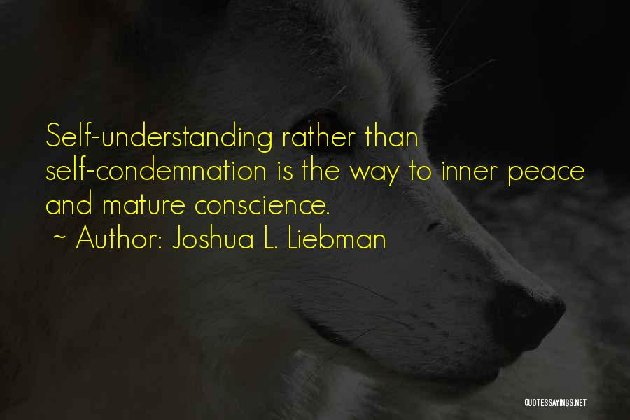 Condemnation Quotes By Joshua L. Liebman