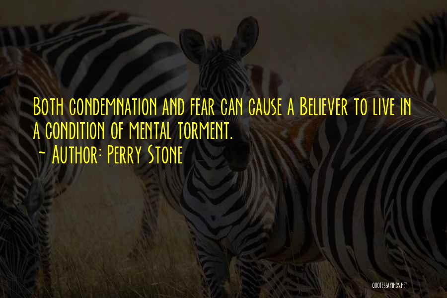 Condemnation Quotes By Perry Stone