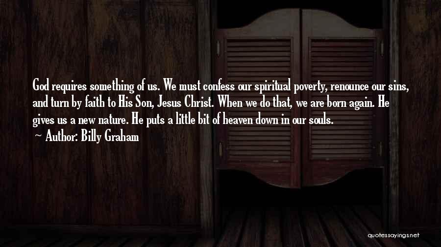 Confess Our Sins Quotes By Billy Graham