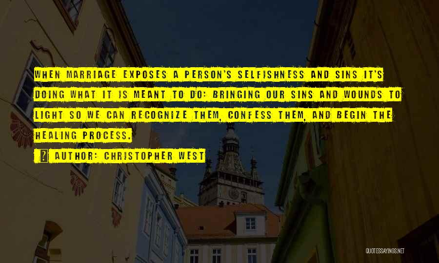 Confess Our Sins Quotes By Christopher West