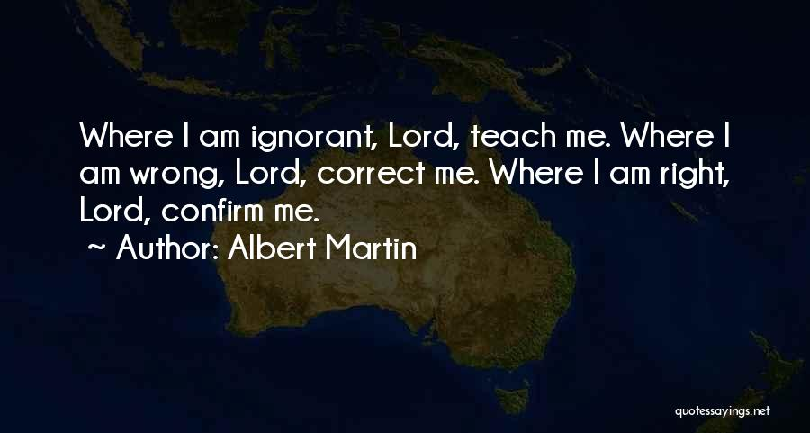 Confirm Quotes By Albert Martin