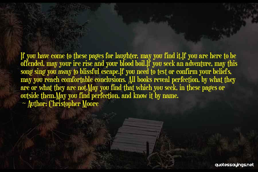Confirm Quotes By Christopher Moore