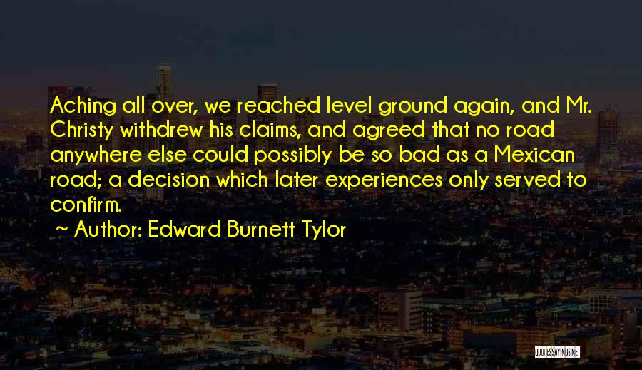 Confirm Quotes By Edward Burnett Tylor