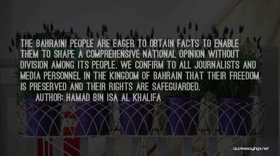 Confirm Quotes By Hamad Bin Isa Al Khalifa
