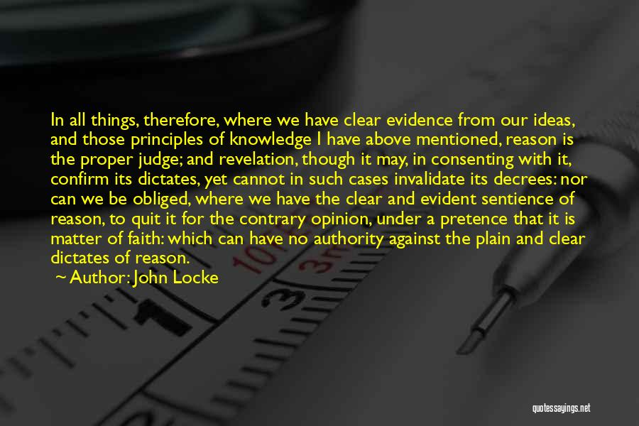Confirm Quotes By John Locke