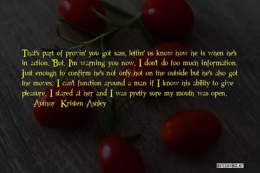 Confirm Quotes By Kristen Ashley