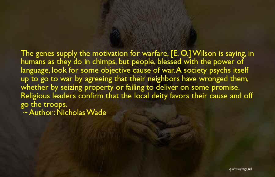 Confirm Quotes By Nicholas Wade