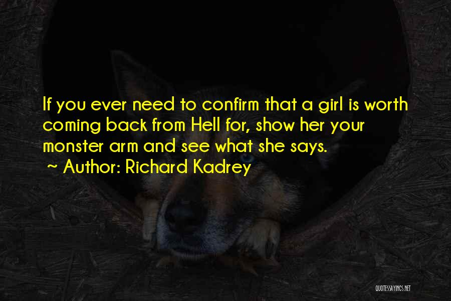 Confirm Quotes By Richard Kadrey