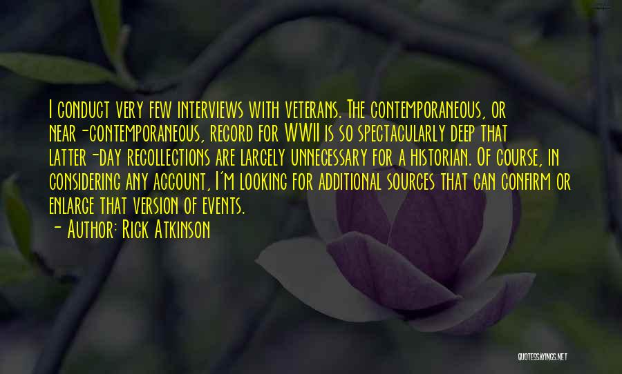 Confirm Quotes By Rick Atkinson