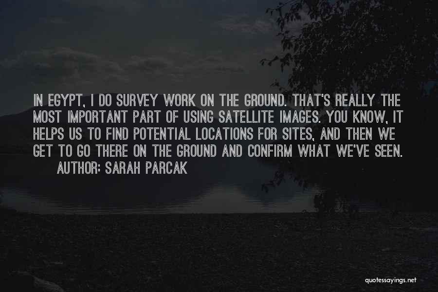 Confirm Quotes By Sarah Parcak