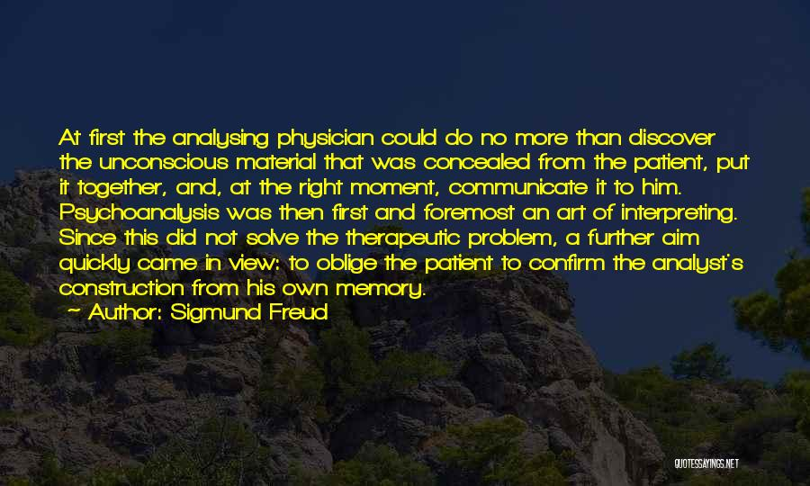 Confirm Quotes By Sigmund Freud