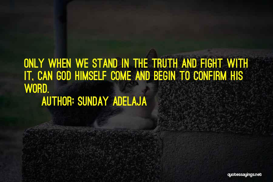 Confirm Quotes By Sunday Adelaja
