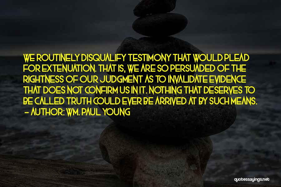 Confirm Quotes By Wm. Paul Young