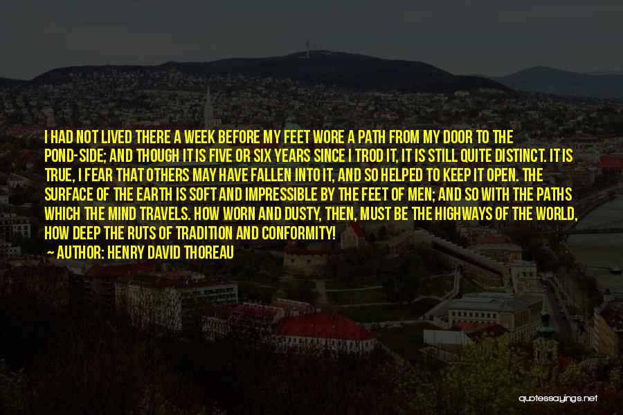 Conformity In Walden Quotes By Henry David Thoreau