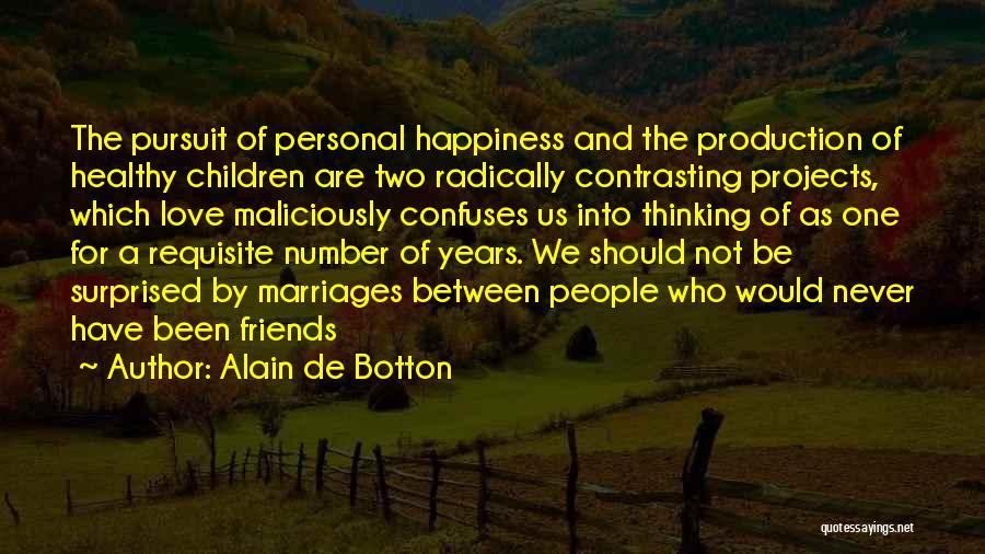 Confuses Quotes By Alain De Botton