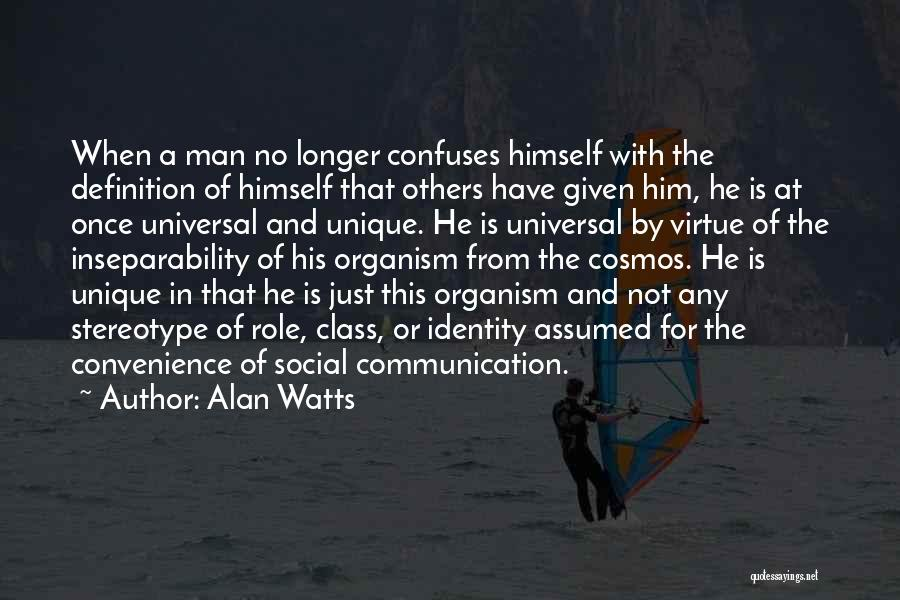 Confuses Quotes By Alan Watts