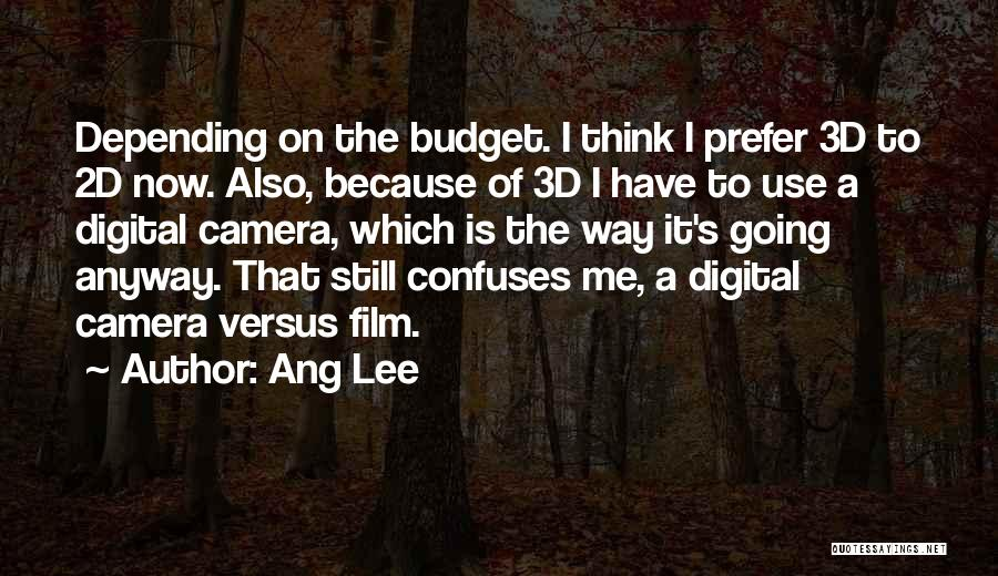 Confuses Quotes By Ang Lee
