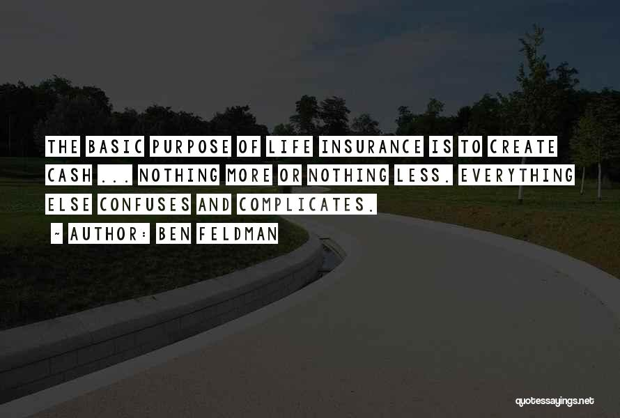 Confuses Quotes By Ben Feldman